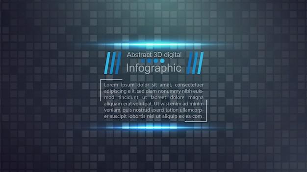 Modelo de papel de negócios - ideia infográfico Vetor Premium