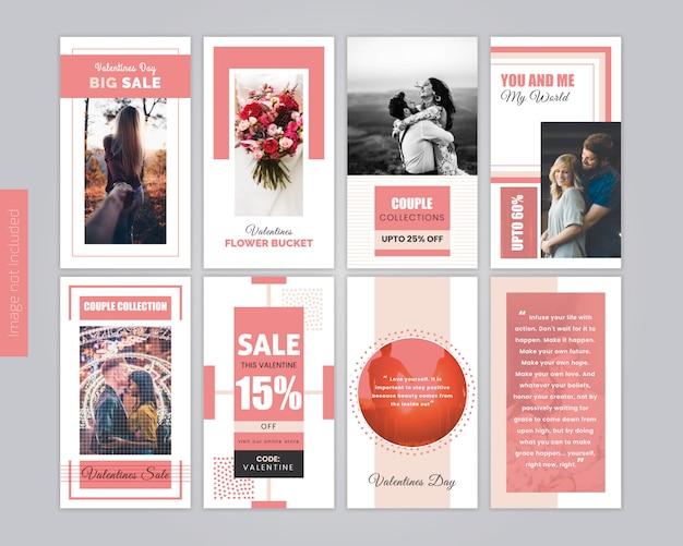Modelo de postagem de oferta de venda de mídia social de moda Vetor Premium