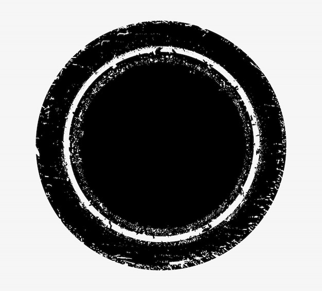 Modelo de selo vintage Vetor Premium