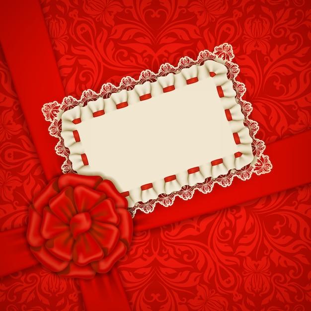Modelo de vetor elegante para cartão de convite de luxo Vetor Premium