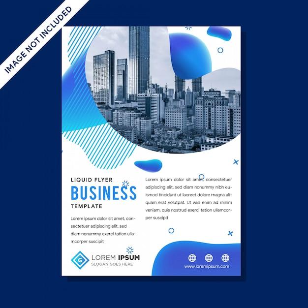 Modelo de vetor moderno para brochura Vetor Premium