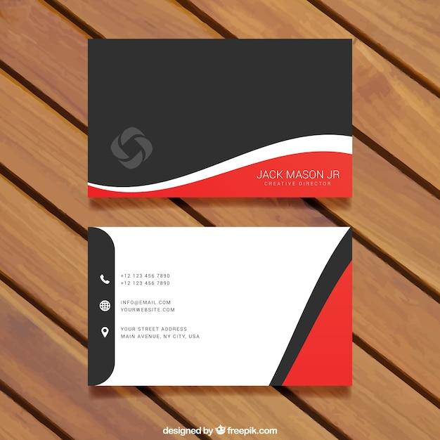 modelos de cartão de visita