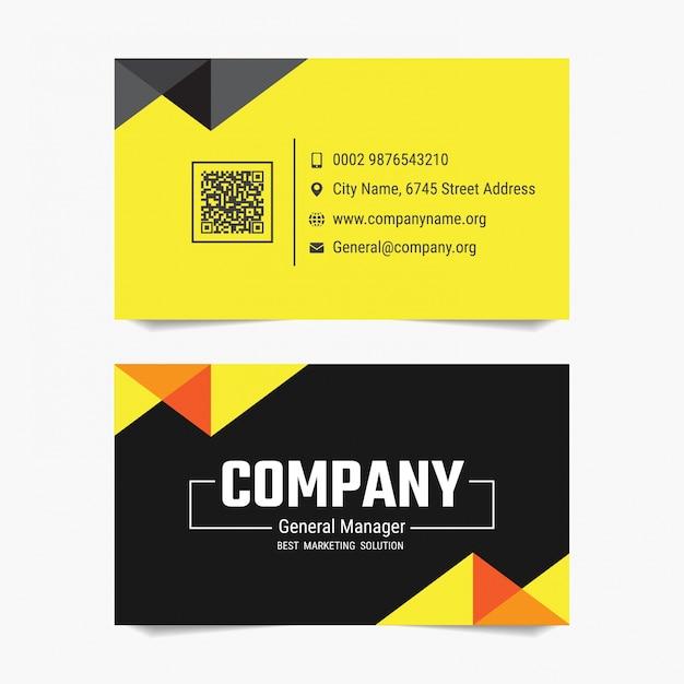 Modern business card vector template design baixar vetores premium modern business card vector template design vetor premium reheart Images
