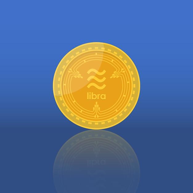 Moeda de dinheiro de libra Vetor Premium