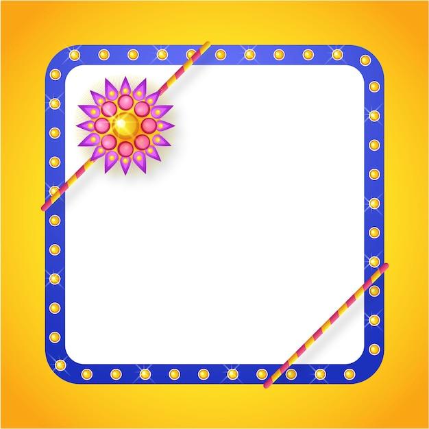 Moldura azul com pontos e detalhes florais   Baixar vetores Premium 36cbe10e1d