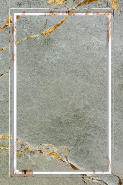 Moldura de mármore Vetor grátis