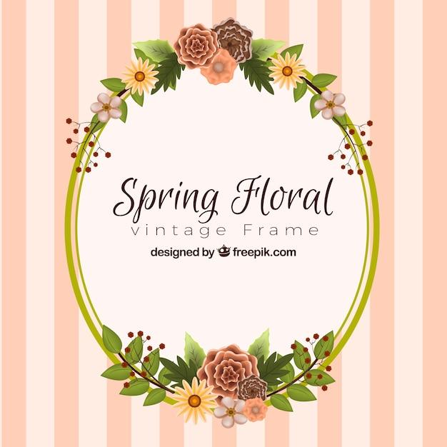 Molduras de primavera para fotos gratis 23