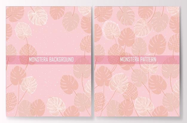 Monstera Vetor Premium