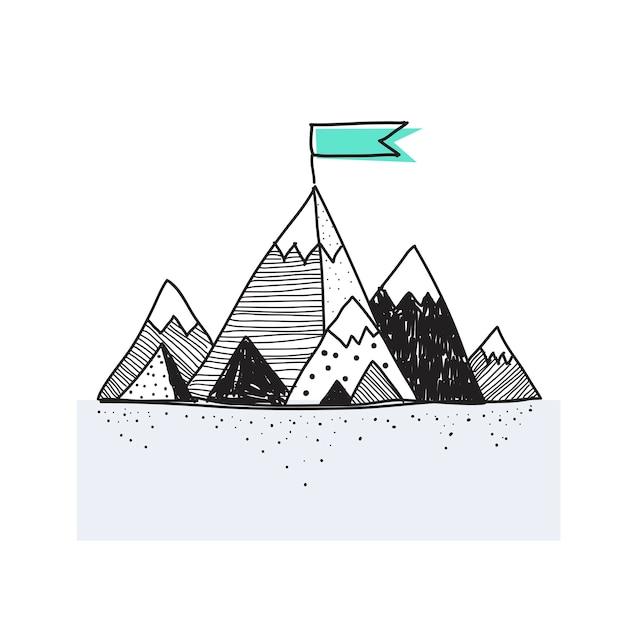 Montanhas Vetor grátis