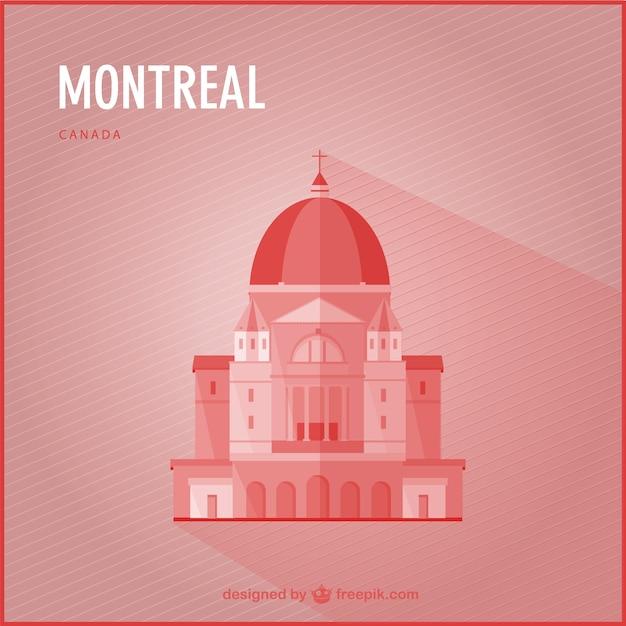 Montreal marco vetor Vetor grátis