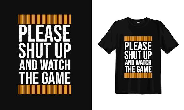 Motivação e tipografia de palavras inspiradas. design de t-shirt Vetor Premium