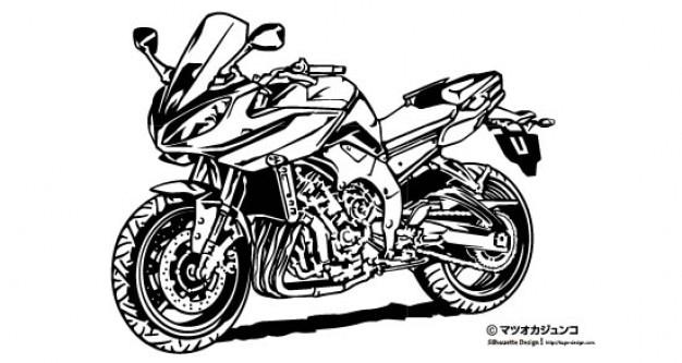 moto grande corrida baixar vetores grátis