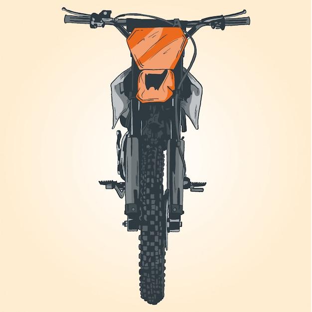 Moto Vetor Premium