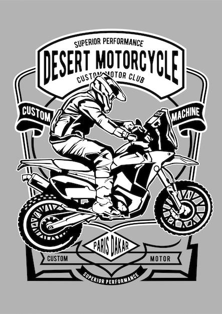 Motocicleta Vetor Premium