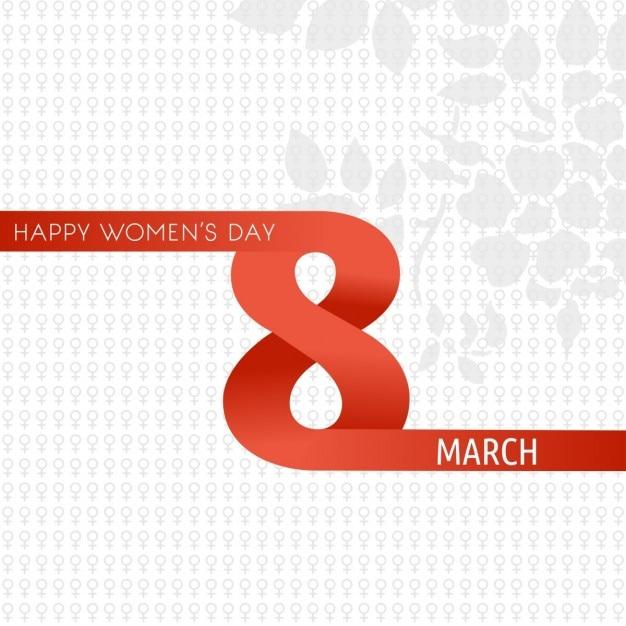 Mulheres felizes dia 08 de março Vetor grátis