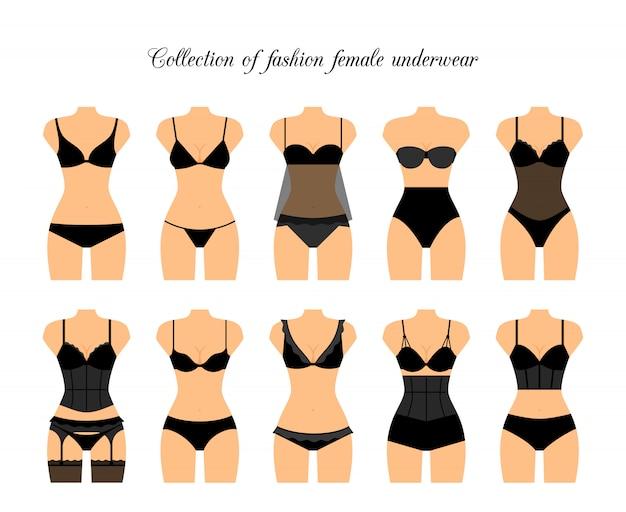 Mulheres shapewear ou ilustração em vetor roupa interior feminina ... 850bef658ae