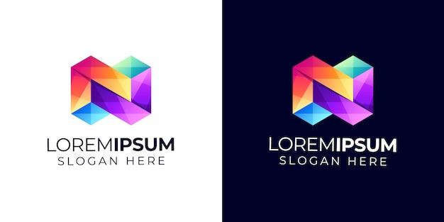 N logo Vetor Premium