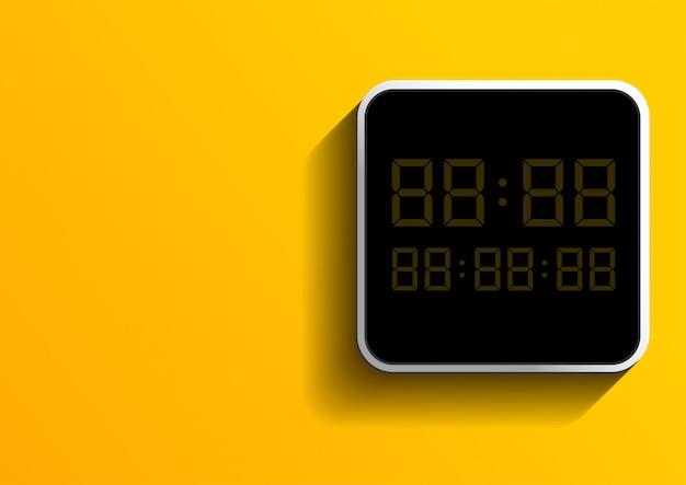Número digital Vetor Premium