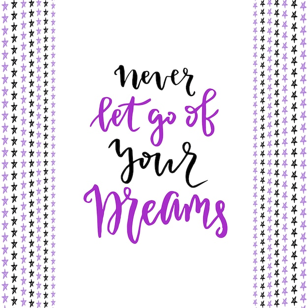Nunca Desista De Seus Sonhos Letra Moderna Com Letras Modernas