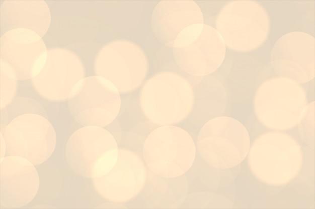 O bokeh morno blury ilumina o fundo bonito Vetor grátis