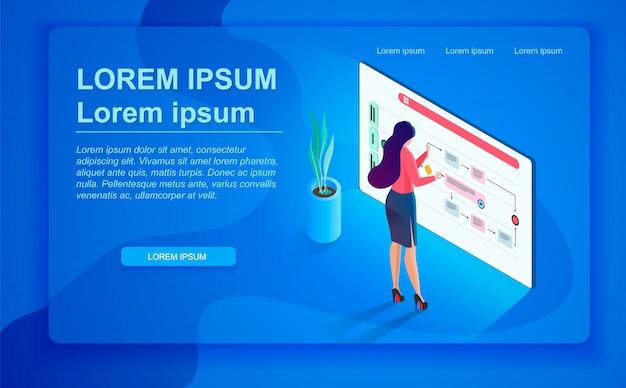 O conceito de gerenciamento de tempo da empresa Vetor Premium