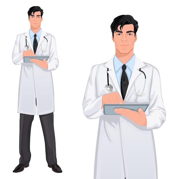O médico Vetor grátis