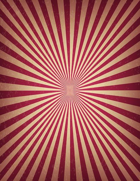 O modelo do circo ou do carnaval do redemoinho listra a bandeira vertical conservada em estoque. sinal de cinema retrô de textura velha. Vetor Premium