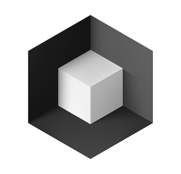 Objeto abstrato Vetor Premium