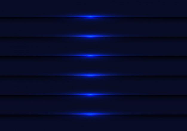 Obscuridade abstrata - fundo metálico claro azul do obturador. Vetor Premium