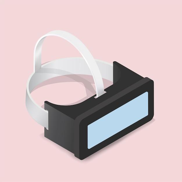 Óculos de realidade virtual Vetor grátis