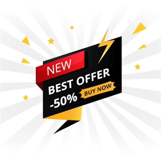 Oferta de venda em flash Vetor grátis