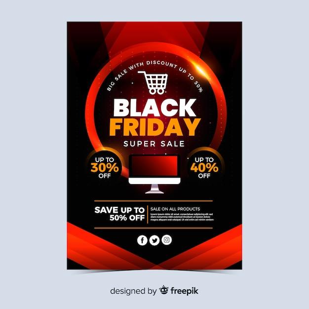 Oferta especial sexta-feira negra Vetor grátis