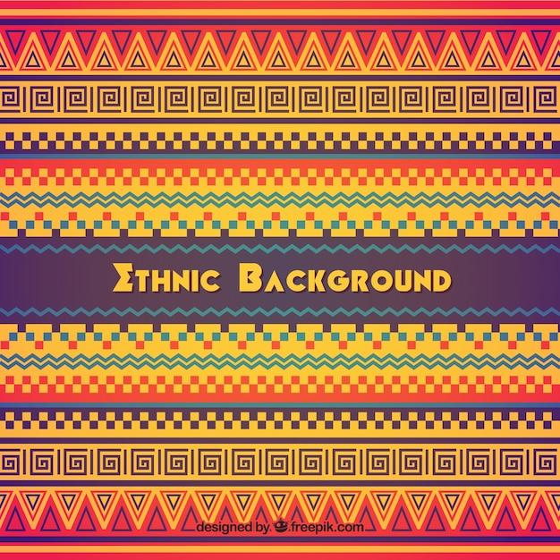 Origem étnica colorida Vetor grátis