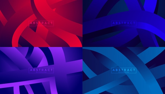 Origens de movimento de fluxo de onda abstrata Vetor Premium