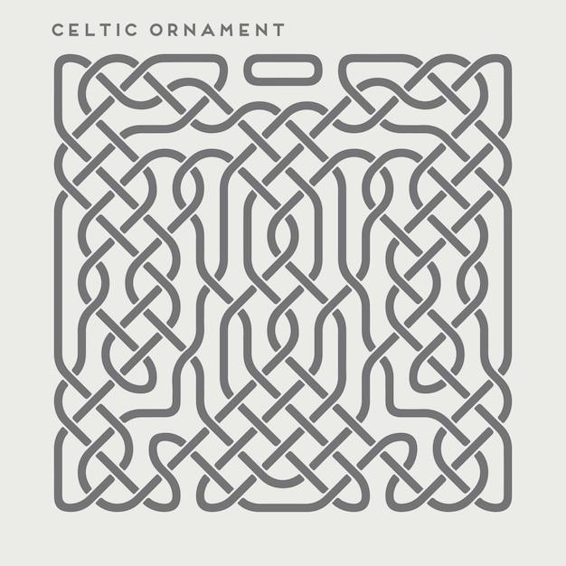 Ornamento celta Vetor grátis