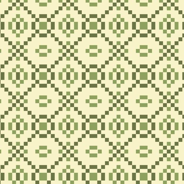 Ornamento de textura padrão songket Vetor Premium