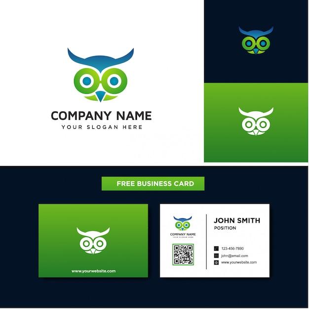 Os modelos de logotipo de coruja Vetor Premium