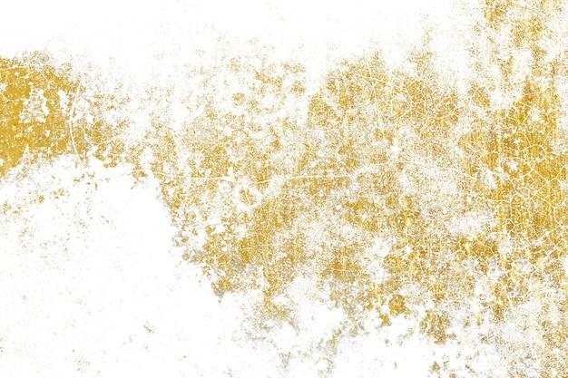 Ouro espirra textura Vetor Premium