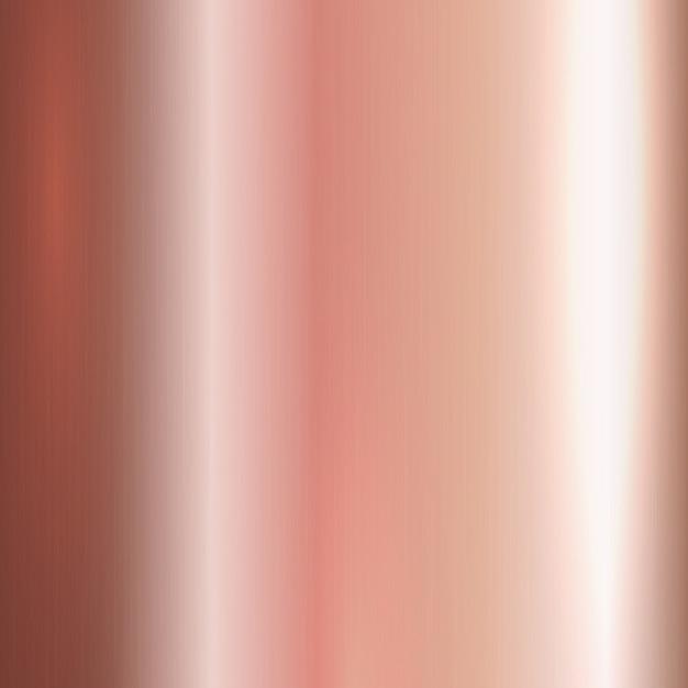 Ouro rosa escovado metal Vetor grátis
