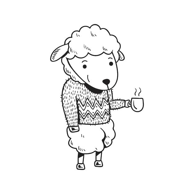 Ovelhas Vetor grátis