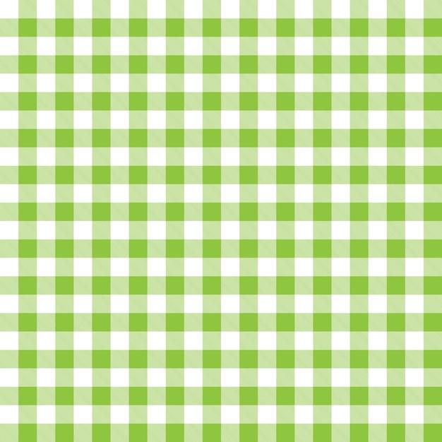 Padrão de fundo com verde xadrez xadrez design Vetor grátis
