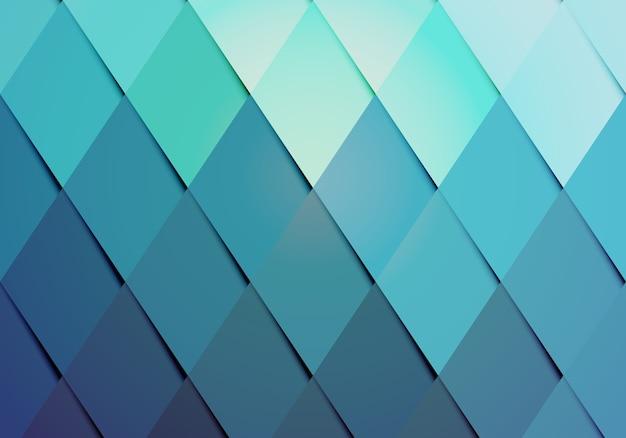 Padrão de fundo de cor moderno de negócios com um arranjo geométrico de diamantes graduados Vetor grátis