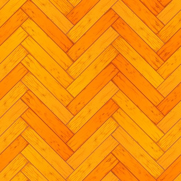 Padrão de parquet de madeira Vetor Premium