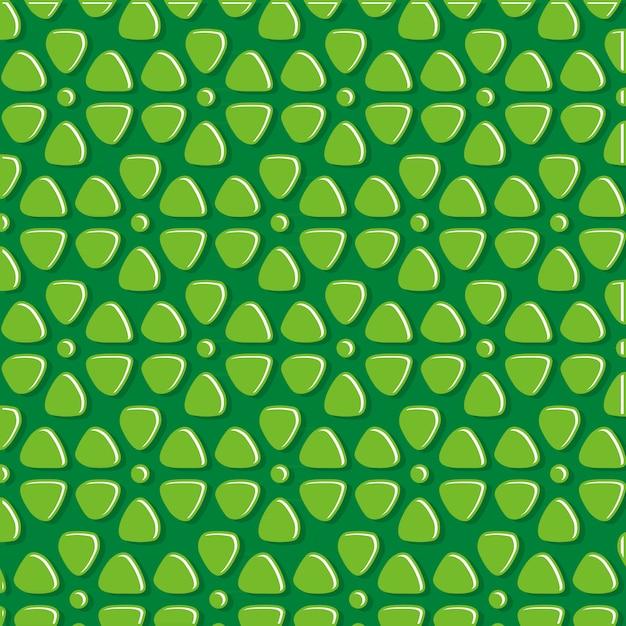 Padrão de pedra verde abstrata Vetor Premium