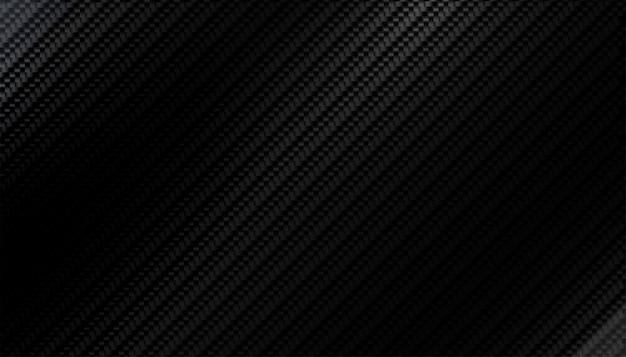 Padrão de textura de fibra de carbono preto com tons claros Vetor grátis
