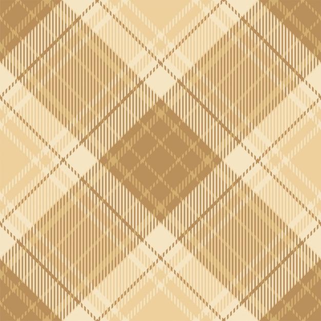 Padrão de xadrez sem costura tartan escócia. tecido de fundo retrô. textura geométrica quadrada de cor de seleção vintage para impressão têxtil, papel de embrulho, cartão de presente, papel de parede. Vetor Premium