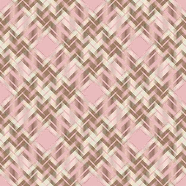 Padrão de xadrez sem costura tartan escócia. tecido de fundo retrô. textura geométrica quadrada de cor vintage seleção. Vetor Premium