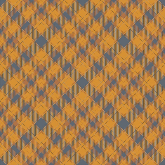 Padrão de xadrez sem costura tartan escócia. tecido de fundo retrô. textura quadrada geométrica de cor de seleção vintage. Vetor Premium