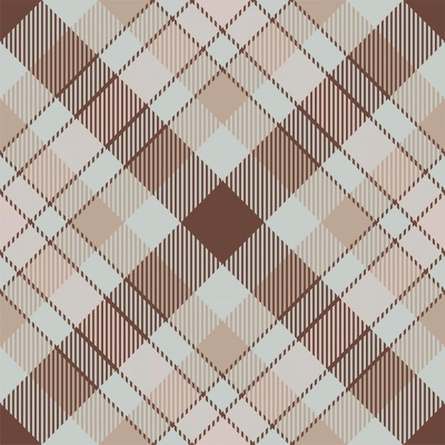 Padrão de xadrez sem costura tartan escócia Vetor Premium