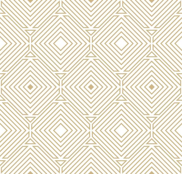 Padrão geométrico abstrato Vetor grátis
